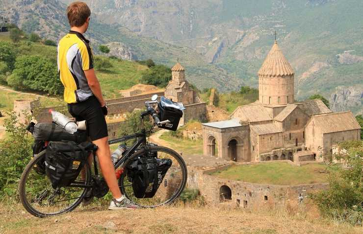 Armenia na rowerze