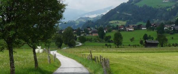 Rowerem w Austriackie Alpy