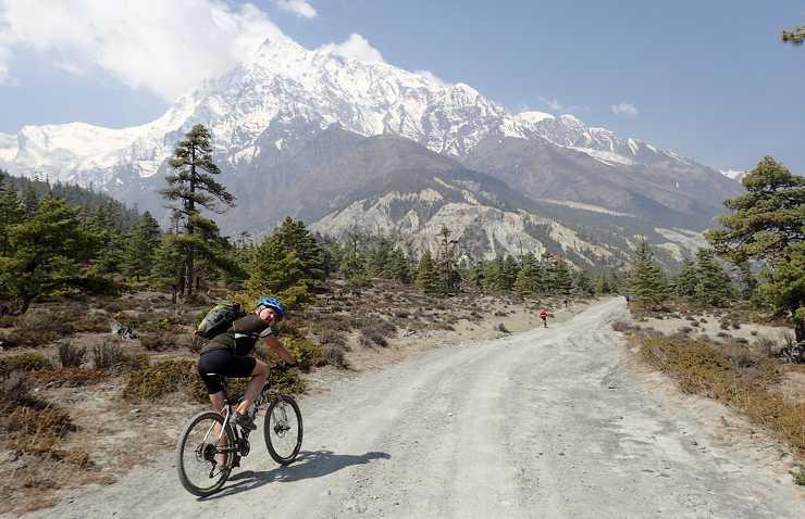 Nepal na rowerze