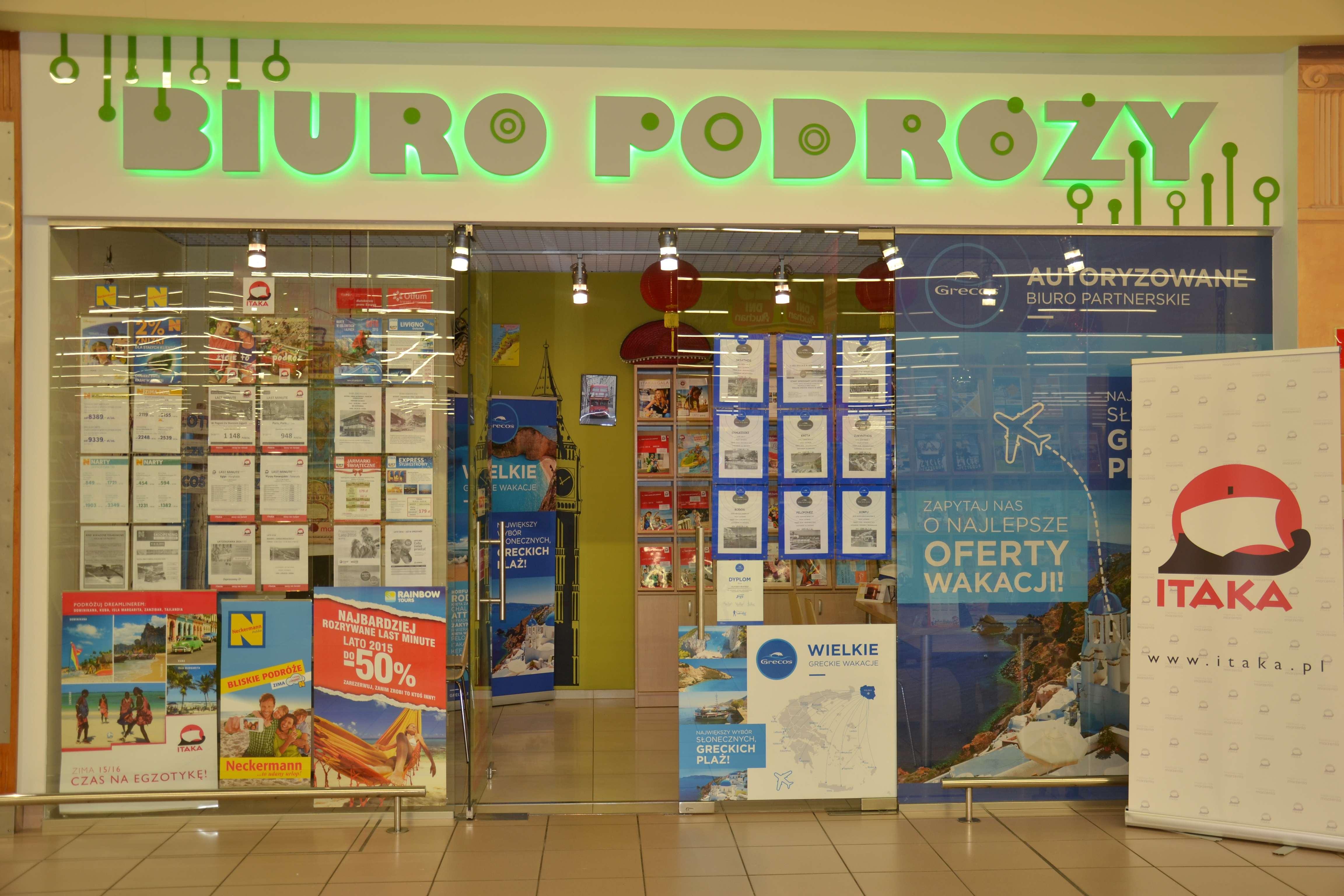 Oliviers Travels w Centrum Handlowym Auchan Mikołów