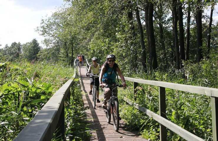 Rowerem z Polski na Litwę