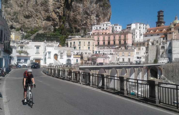 Okolice Neapolu na rowerze