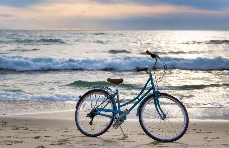 Wzdłuż Bałtyku na rowerze