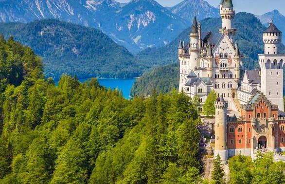 Wzdłuż jezior Bawarii