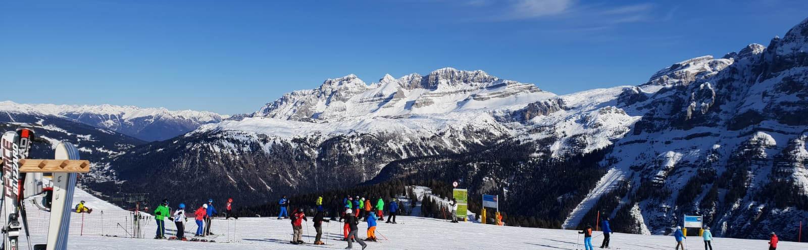 Narty we Włoskich Alpach