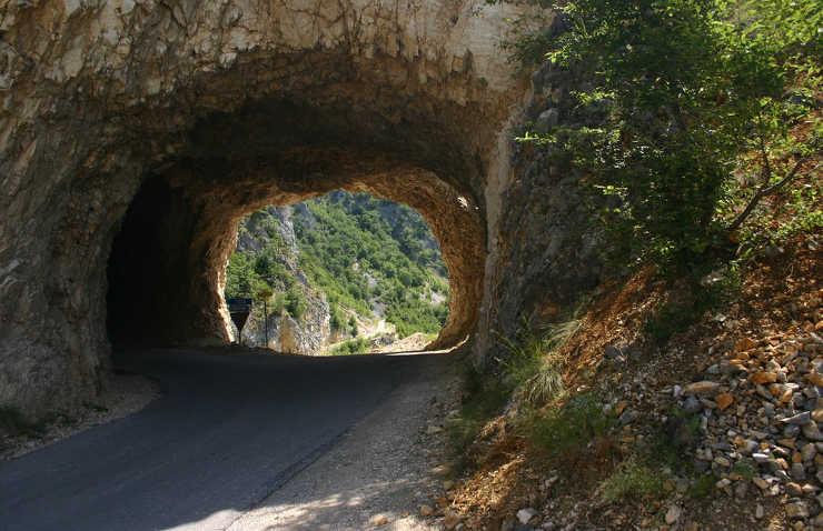 Kaniony Czarnogóry na rowerze MTB