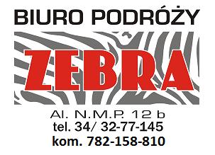 Biuro Podróży Zebra